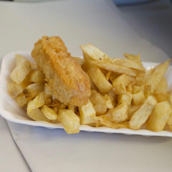 Gluten Free fish and chips in dereham