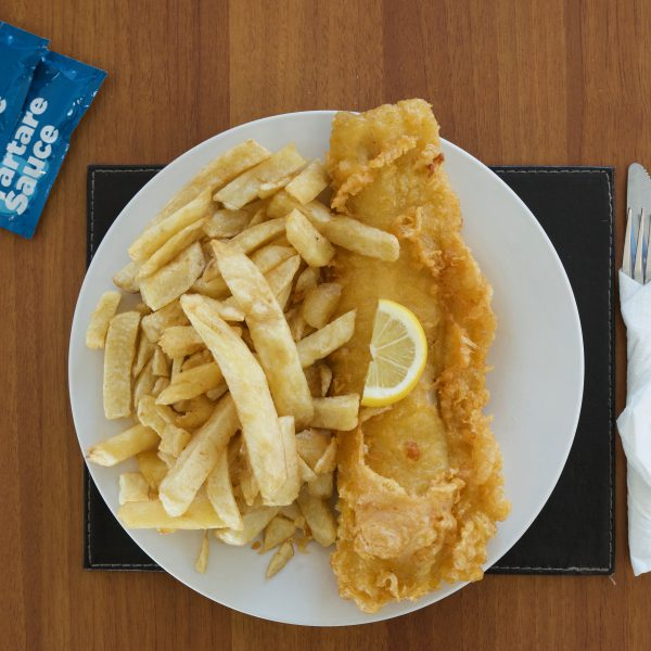 Fish and Chips in Dereham, Norfolk